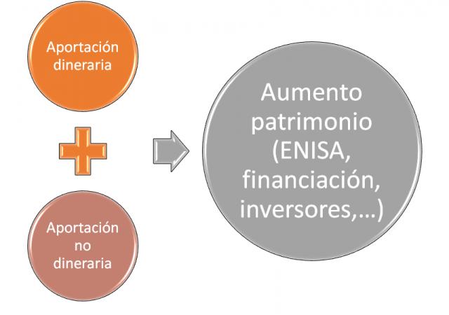 Aportación no dineraria en un proyecto ENISA para startup